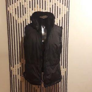 Beautiful Soft Reversible sleeveless jacket